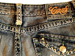Coogi Boot Cut Jeans-Light Wash