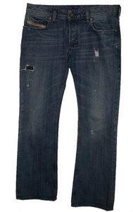 Diesel Zatiny 34 X 32 Button Fly Boot Cut Jeans