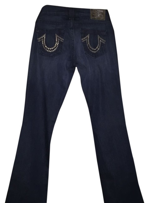 Preload https://img-static.tradesy.com/item/7526800/true-religion-dark-blue-rinse-section-tory-boot-cut-jeans-size-27-4-s-0-1-650-650.jpg