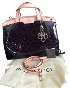 Louis Vuitton Patent Leather Leather Shoulder Bag