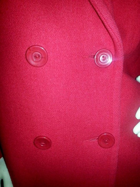 Stephanie Matthews Wool Vintage Pea Coat