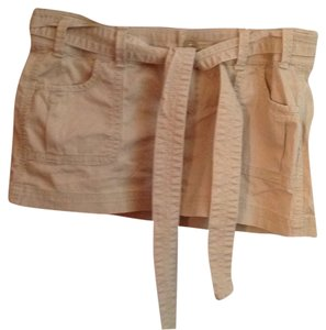Abercrombie & Fitch Mini Skirt Tan
