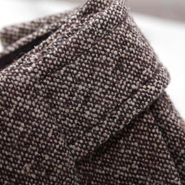 Alain Manoukian Tweed Wool Blend Silk Blend Skirt Brown Image 2