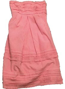 Cynthia Steffe short dress Pink Strapless Preppy on Tradesy