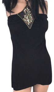 Rampage short dress Black * Silver Pink White Gold Sequins * Sexy Beads Date Night on Tradesy
