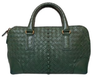 Bottega Veneta Satchel in Dark Green