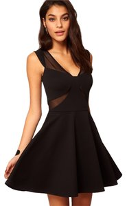 ASOS Skater Mesh Party Evening Dress