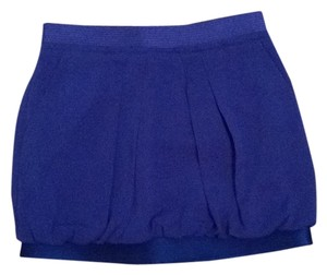 BCBGMAXAZRIA Pockets Mini Skirt Royal blue