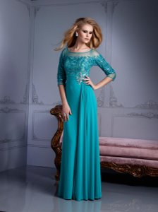 Terani Couture Light Peacock Style M2211 Dress