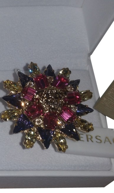 Item - Pink Purple Yellow and Gold Ring