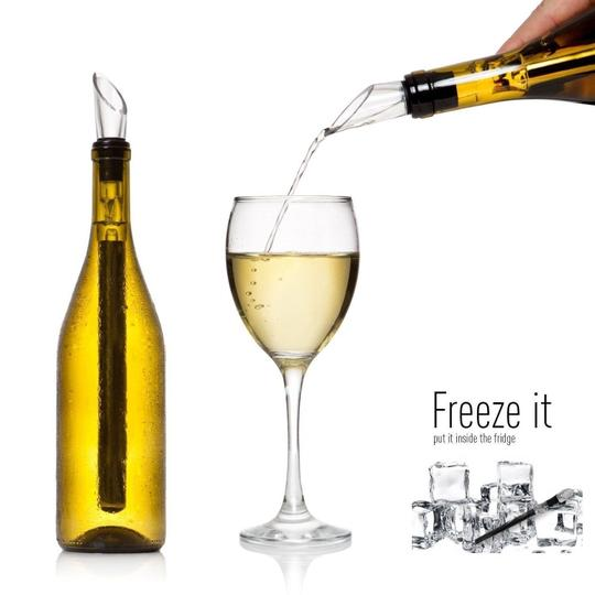 Preload https://img-static.tradesy.com/item/7531159/chrome-black-12x-wine-stainless-steel-chiller-chill-stick-ice-cold-pourer-spout-bottle-freeze-usa-ba-0-0-540-540.jpg