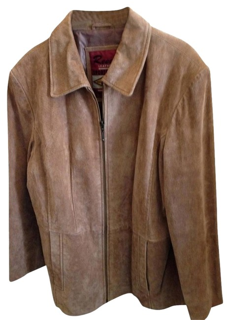 Reed Leather Tan Jacket