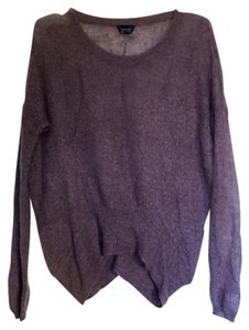 Topshop See Through Relaxed Fit Relaxed Oversized Sweater