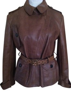 Dior Brown Leather Jacket