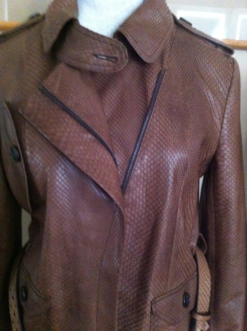 Dior Brown Leather Jacket Image 5