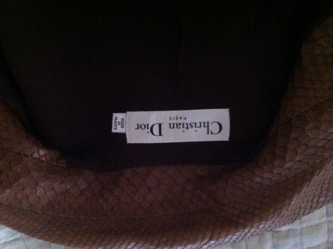 Dior Brown Leather Jacket Image 7