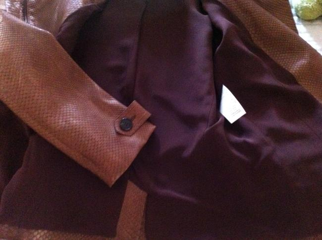 Dior Brown Leather Jacket Image 8