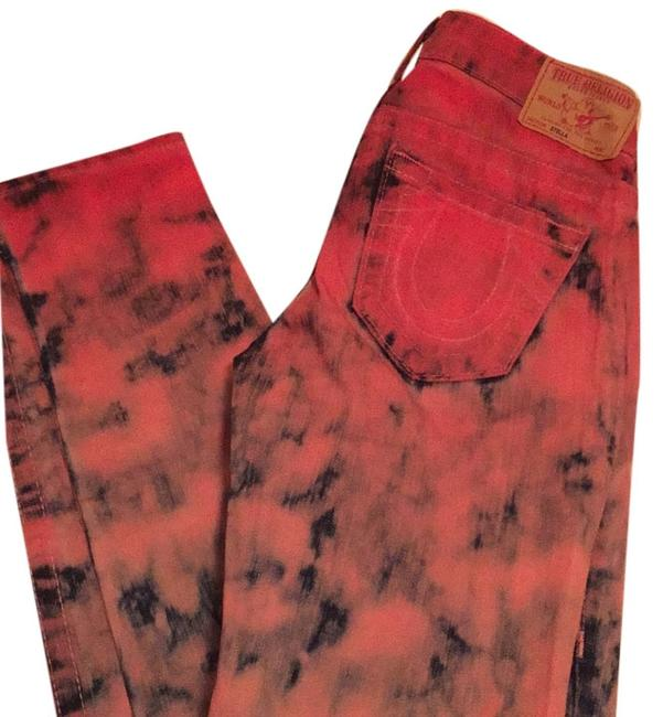 Item - Red/Navy Skinny Jeans Size 26 (2, XS)
