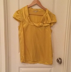Nanette Lepore Top Yellow/Gold Top