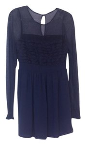 Free People Bridesmaid Slate Yoke Dress