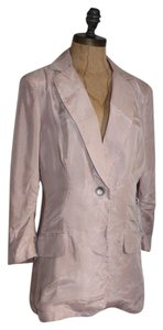 Anthropologie Boyfriend Bemberg Jacket pink Blazer