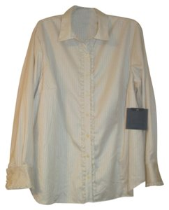 Liz Claiborne Plus-size Top Cream