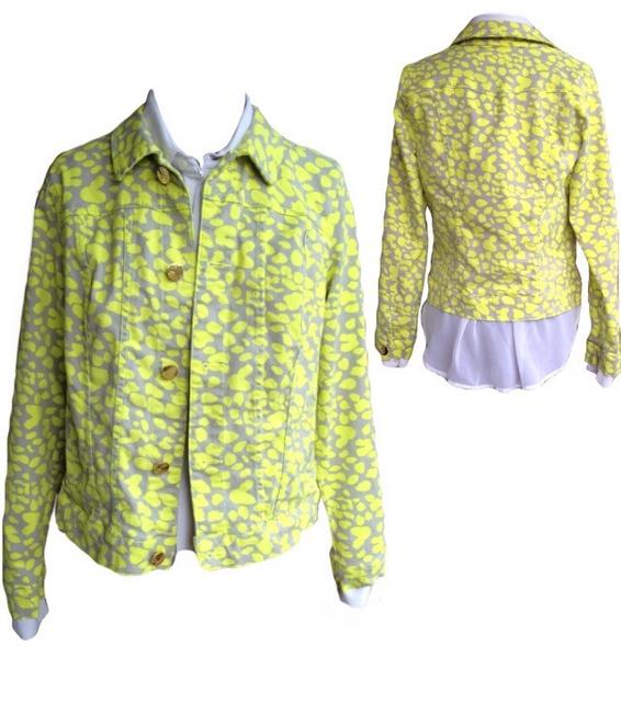 Cynthia Rowley Liv Yellow Jacket