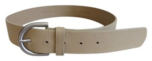 Talbots Beige Leather Belt