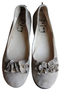 French Sole Tan Flats