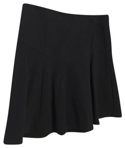 Tibi Flare Flare Mini Skirt black