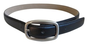 Ann Taylor Black leather belt