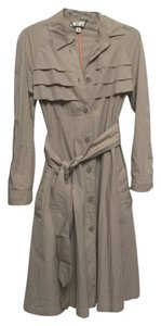 Doo.Ri Raincoat Trench Coat Beige Jacket