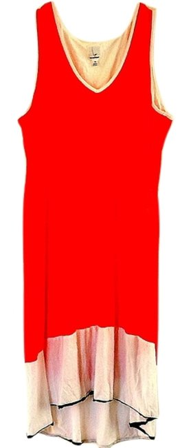 Preload https://img-static.tradesy.com/item/7536226/newport-news-orange-knee-length-cocktail-dress-size-16-xl-plus-0x-0-2-650-650.jpg