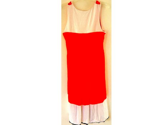 Newport News Machine Washable Color-blocking V-neck Dress Image 1