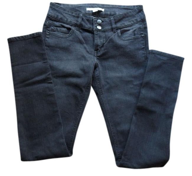 Preload https://img-static.tradesy.com/item/753632/forever-21-blackdark-grey-rinse-denim-skinny-jeans-size-26-2-xs-0-0-650-650.jpg