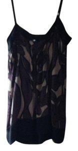 BCBG Max Azria Top Purple/gray/black print