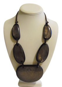 Other 21 Inch Resin Stone Statement Necklace