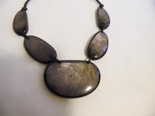 Other 21 Inch Resin Stone Statement Necklace Image 2