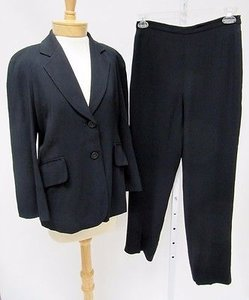 Moschino Moschino Cruise Me Baby Black Pc Blazer And Pants Suit
