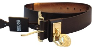 Michael Kors Micheal Kors Saddle Buckle Leather Belt - Size M