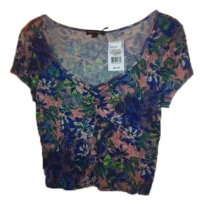 About A Girl T Shirt Floral