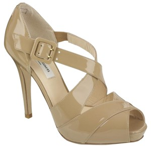 L.K. Bennett Strappy Sandal Patent Leather Nude Sandals