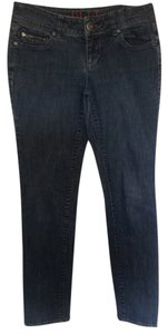 Elle Straight Leg Jeans-Medium Wash
