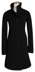 J.Crew Stand-up Double Cloth Trench Coat
