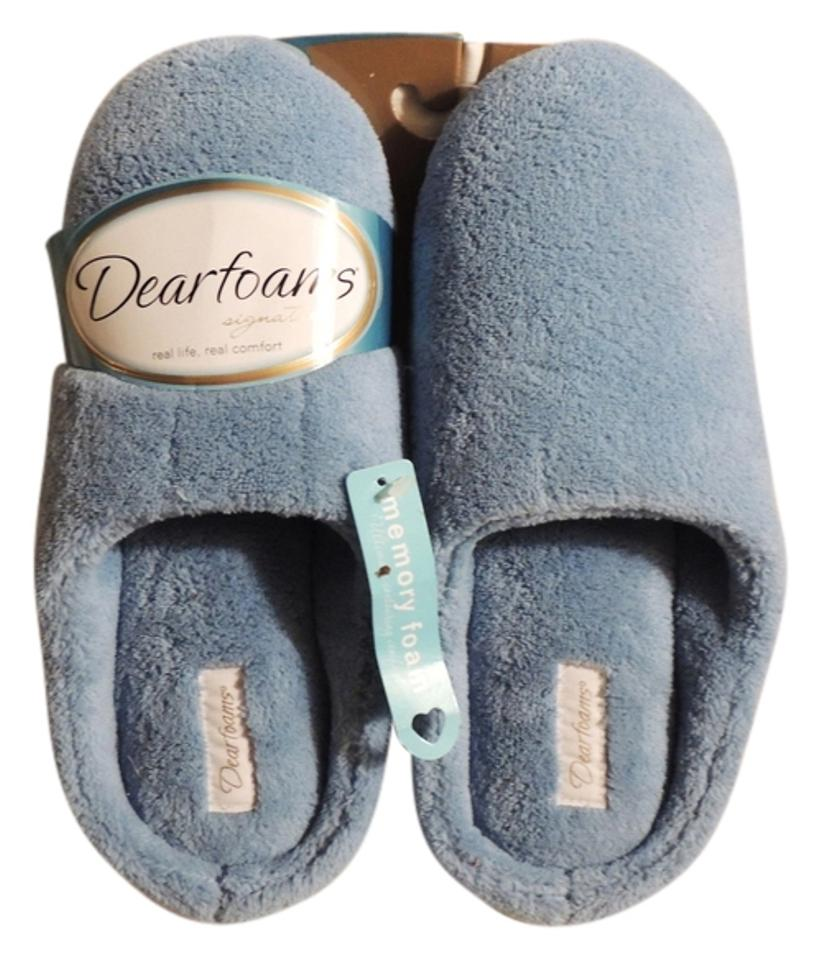 Baby Blue Bedroom Slippers Mules/Slides Size US 8