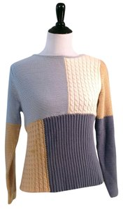 Liz Claiborne Easy Care Varied Knit Patterns Closeout Sweater