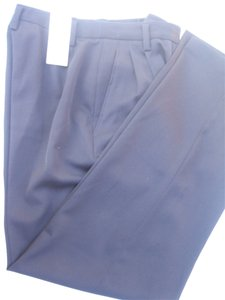 Ellen Tracy Trouser Pants Navy Blue