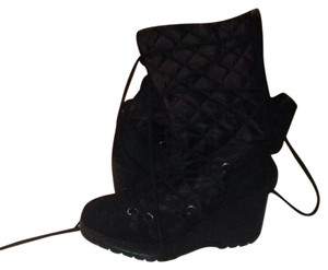 Soda Blu Black nylon brown beige Boots