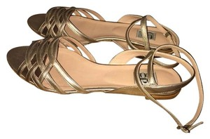 Barneys Co-Op Light Gold Sandals