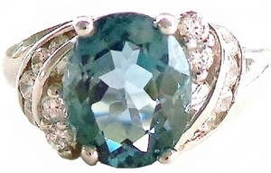 London Blue Topaz 925 Sterling Silver Ring 7